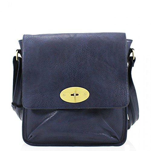 Navy Messenger Fashion Cross D9cm Bag Shoulder Faux X Ladies Leather W27cm Quality Celebrity H31cm Selling Hot Women's Leahward Designer Body Cws00429 Trendy ET1Oq7ww