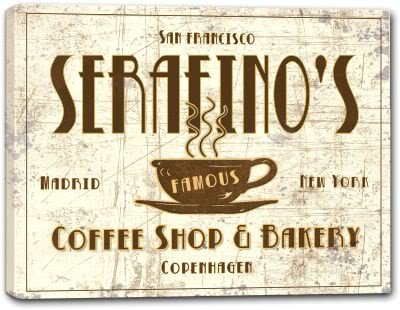 Serafino Print (SERAFINO'S Coffee Shop & Bakery Canvas Print 16
