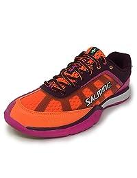 Salming Viper 4 Purple/Orange Women's Indoor Court Shoes