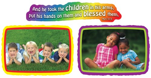 Jesus Loves the Children Bulletin Board Set Love Books Bulletin Board