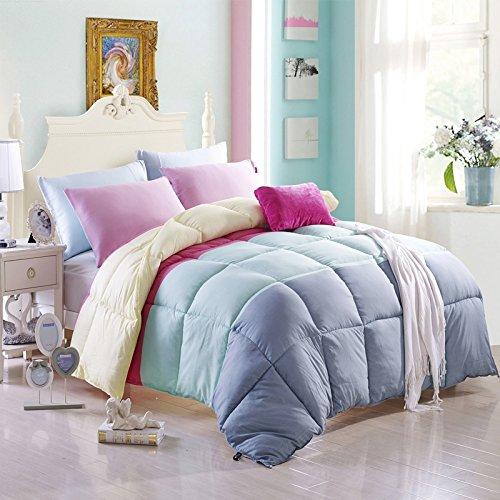 Sky Of Fate Grey Blue Comforter Duvet Insert Kids Comforter Teen Comforter Down Alternative Comforter, Queen Size