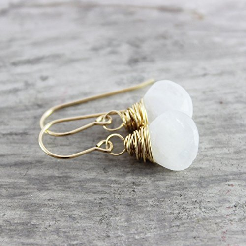 Rainbow Moonstone Gold Filled - Moonstone Ring Gold