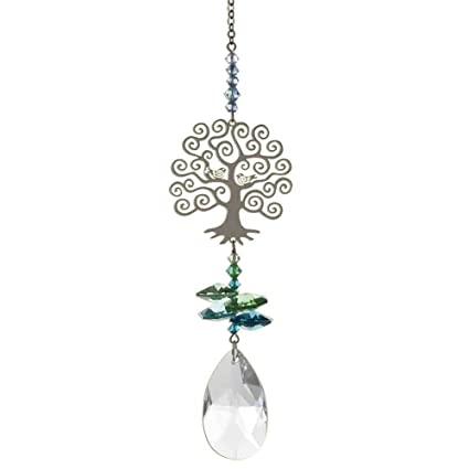 bfb7bb043 Image Unavailable. Image not available for. Colour: Swarovski Crystal  Fantasy Hanging Suncatcher/Rainbow Maker ...