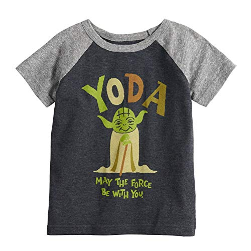 Jumping Beans Little Boys' Toddler 2T-5T Cute YODA Tee 2T Gray from Jumping Beans