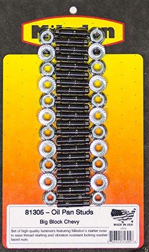 Milodon 81305 Oil Pan Stud Kit for Big Block Chevy