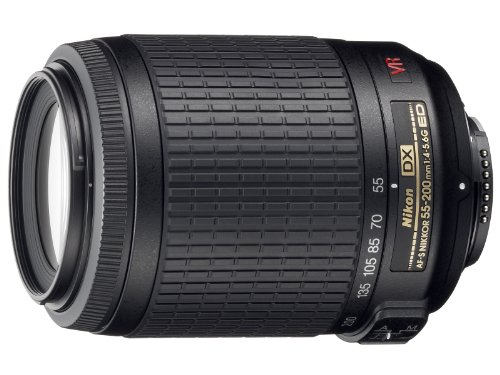 Nikon 55-200mm f/4-5.6G ED IF AF-S DX VR [Vibration Reduction] Nikkor Zoom - La Jolla Gift Shops