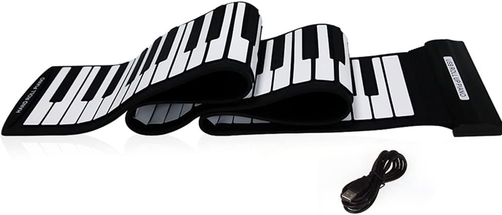 Andoer® USB 88 Teclas Teclado de Piano Electrónico Entrollable Flexible Profesional