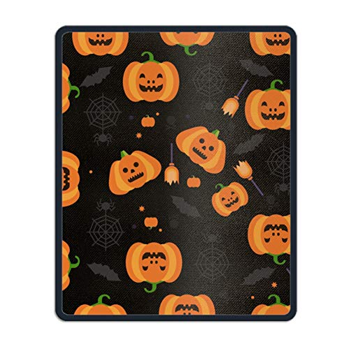 Halloween Pumpkin Mouse Pad Customized Rectangle Non-Slip Rubber Mousepad for Gaming