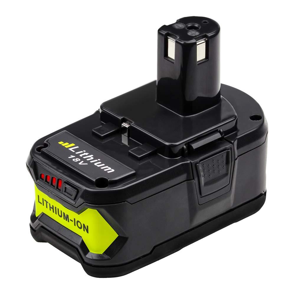 P108 4000mAh Replace for Ryobi 18V Battery ONE+ P102 P103 P104 P105 P107 P109 P122 by Munikind