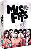 Misfits - Series 1, 2 & 3 - 6-DVD Box Set ( Mis fits - Series One, Two and Three ) [ NON-USA FORMAT, PAL, Reg.2 Import - United Kingdom ]