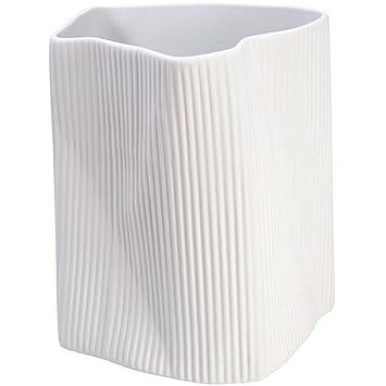 Plissé Blanc Vase Chaise Grand Céramique Longue 2h 024m 33 La Modèle RjL35A4