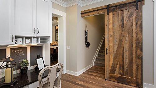 Reclaimed Interior Sliding Barn Door Pine Slab Home Office Door