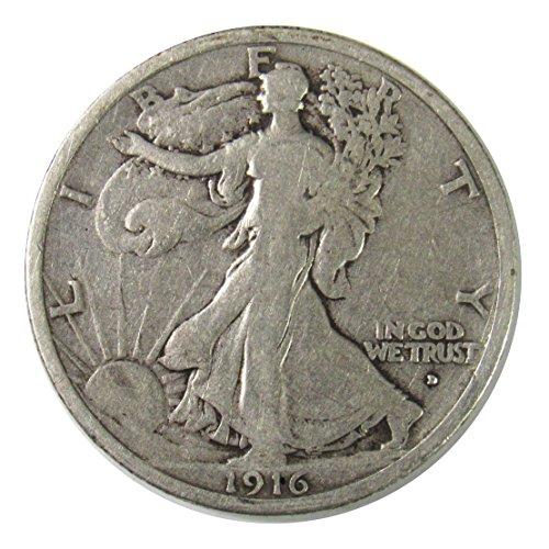 1916 D Walking Liberty Half Dollar 50¢ -