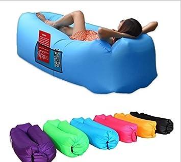 Tumbona hinchable RB, sofá de aire portátil, cama de nailon ...