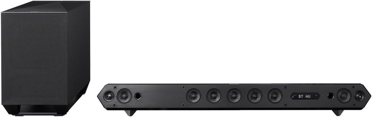 Sony Ht St7 7 1 Premium Soundbar 450 Watt S Force Pro Front Surround Sound Nfc Bluetooth 4 Hdmi Anschlüsse Schwarz Audio Hifi