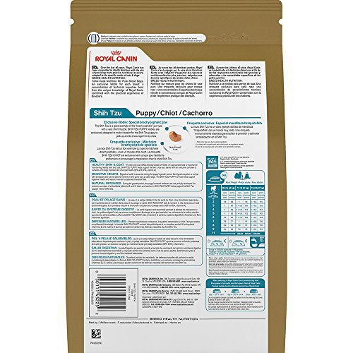 Royal Canin BREED HEALTH NUTRITION Shih Tzu Puppy dry dog food, 2.5-Pound by Royal Canin (Image #3)