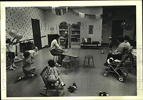 Vintage Photos 1984 Press Photo A Child's Place, Daycare in Shopping Mall in Houston, ()
