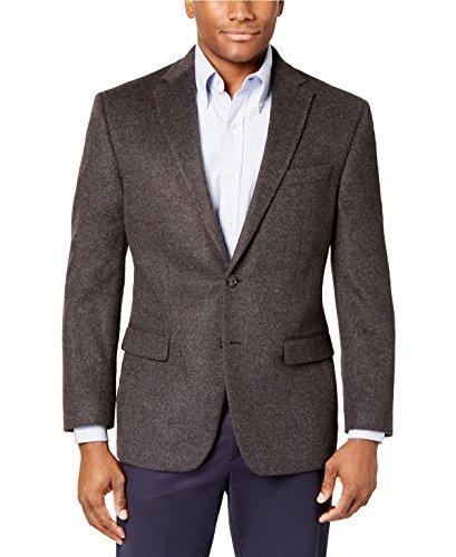 RALPH LAUREN Cashmere Blend Men's Classic Fit Sport Coat (Dark Grey, 52 reg)