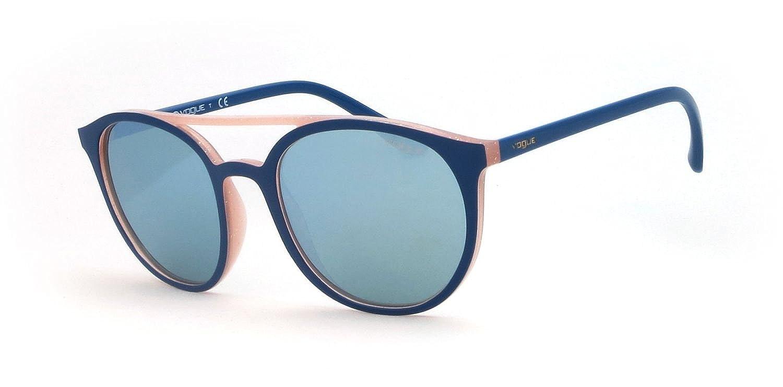 Vogue 0Vo5195S Gafas de sol, Top Dark Blue/Glitter Pink, 52 ...