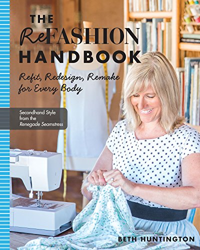 Ruby Denim Sweater - The Refashion Handbook: Refit, Redesign, Remake for Every Body