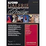 ILFORD Galerie Prestige Smooth Pearl - Papel fotográfico, 310 g, 25 hojas, A3+
