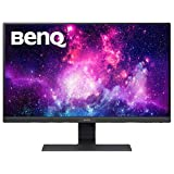 BenQ Monitor LED 23.8 pulgadas 1080p Eye-Care ( GW2480 ), 1920x1080,  Brightness Intelligence, Low Blue Light, Flicker-free, Bisel Ultra Delgado, Sistema de Organización de Cables, HDMI