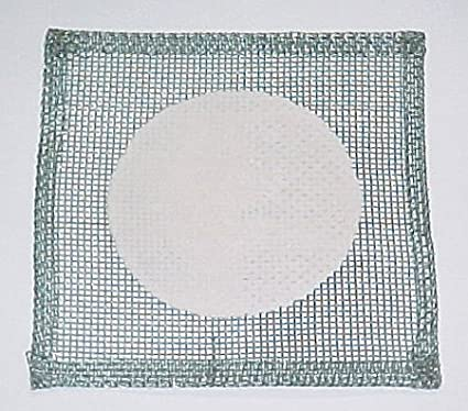 SEOH Wire Gauze Squares Ceramic Center 5X5 (Pack of 3): Science Lab ...