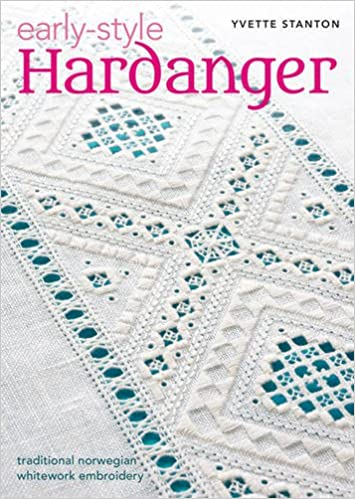Early Style Hardanger Traditional Norwegian Whitework Embroidery