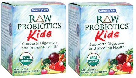 Garden Of Life Raw Organic Probiotic Kids 96g Powder X 2 Fitness Tracker Fitness