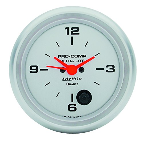16 Mechanical Boost - Auto Meter 4485 Ultra-Lite Clock