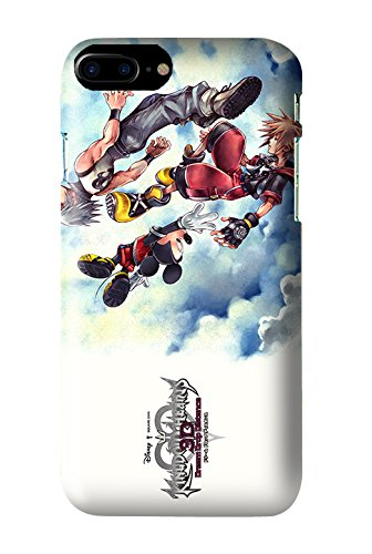 Kingdom Hearts 3D: Dream Drop Distance Game Snap on Plastic Case Cover Compatible with Apple iPhone 7 and 7s 100% Satisfaction Guarantee! (Kingdom Hearts 3d Dream Drop Distance Opening)