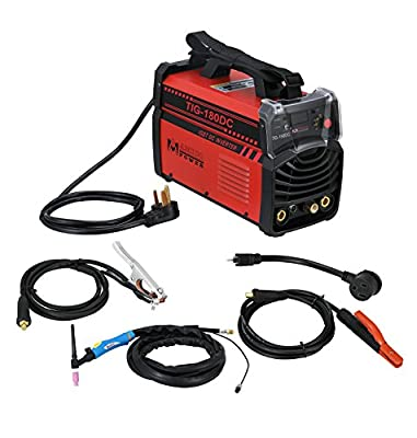 TIG-180 Amp TIG Torch ARC Stick DC Welder Dual Voltage IGBT Inverter Welding Machine New