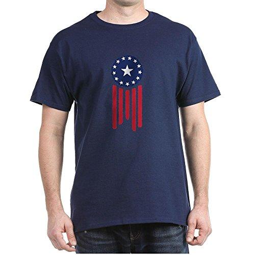 CafePress Old World Justice Flag T-Shirt - 100%