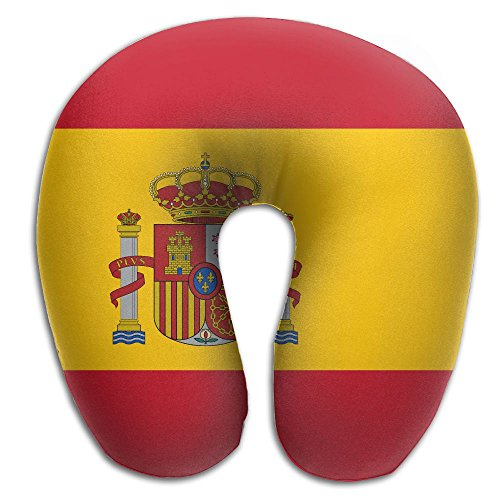 Flag Of Spain Super Comfortable U Type Pillow Neck Pillow Relex Pillow Travel Pillow With Resilient Material by Tuooper