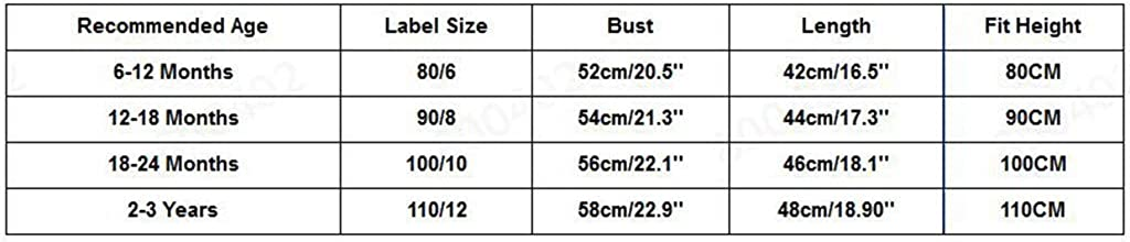 3 Years wuayi  Baby Girls Ruched Cherry Sleeveless Dress Princess Dresses Summer Clothes Outfits 6 Months