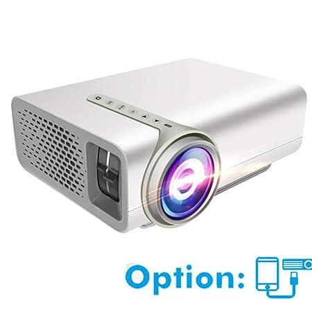 Mengen88 LED Mini proyector, Micro Comercial Inicio 1080P HD ...