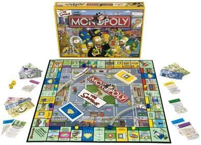 Hasbro – 400461010 – Monopoly – Sociedad Parte – Clásico – Monopoly Simpson: Amazon.es: Juguetes y juegos