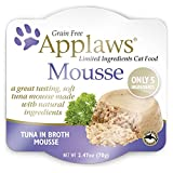 Applaws Grain Free Wet Cat Food, Mousse, Cat Pate, Tuna with Seaweed 2.47 oz per Unit (12 Pack) Review