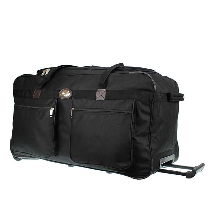 Alexander Bolsa Deporte Bolsa Gimnasio de Viaje Travel Duffle Bag Adulto Material Nylon Capacidad 27L 29 * 19 * 49 cm (Azul) 207019-AZ