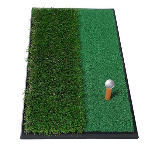 "Golf Putting Mat 12""x24"", OUTAD Outdoor/Indoor Training Equipment Aid Golf Practice (Golf Chipping Putting)"