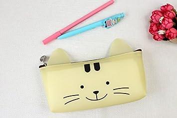 Happy star filles cute animal chat panda pig plastique trousse à