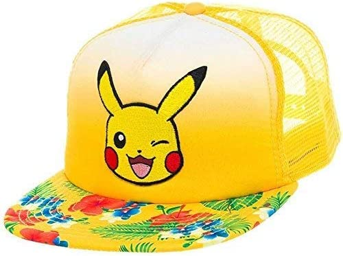 Pokemon Trucker Cap Cappello Berretto Pikachu Bioworld