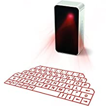 Generic Portable Virtual Laser Projection Bluetooth Keyboard and Mouse for iPad iPhone Tablet Android Smart Phones with Mini Speaker Voice Broadcast
