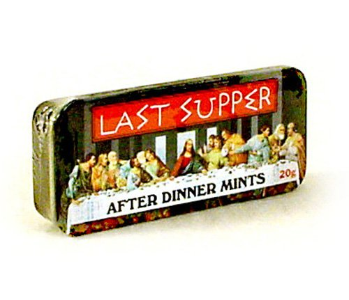 Last Supper After Dinner Mints in Collectible Tin 20g