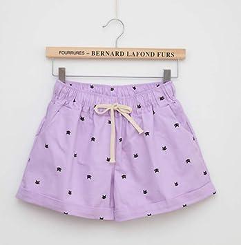 NSDKFF Pantalones Cortos De Mujer Moda Casual De Verano Shorts ...