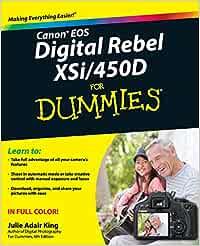 Canon EOS Digital Rebel XSi/450D For Dummies: Amazon.es ...
