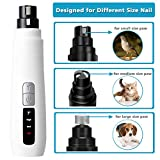cyrico Dog Nail Grinder 2-Speed Quiet Dog Nail