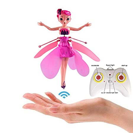 Lamptti Flying Princess - Muñeca Hinchable con Luces (Control de ...