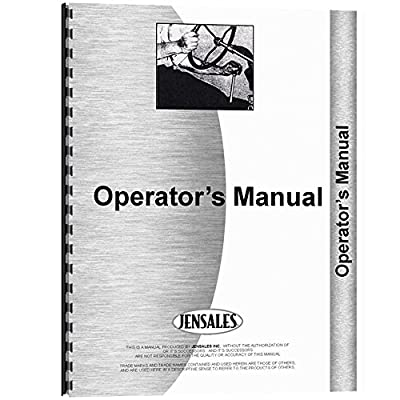 Implement Operators Manual Made for Mpl Moline Row Crop Cultivator Model C1400