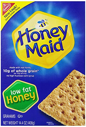 Honey Maid Low Fat Graham Crackers, 14.4 Ounce